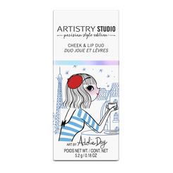 ARTISTRY STUDIO™ Parisian Style Edition Cheek & Lip Duo - Polaris Pink