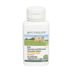 NUTRILITE™ Kids Vitamins and Minerals Chewable Tablet