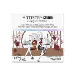 ARTISTRY STUDIO™ Shanghai Edition Soft & Silky Eye & Cheek Pop Trio (Shanghai Peach)