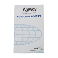 Customer Receipt Pad